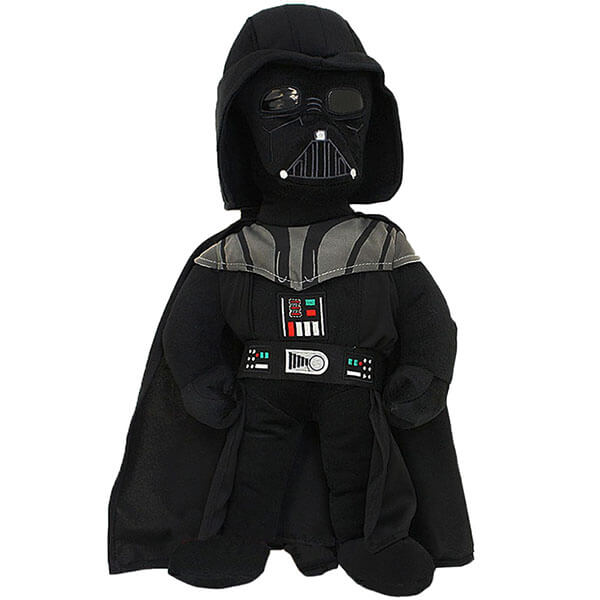 Cartoon Plush Darth Vader Backpack