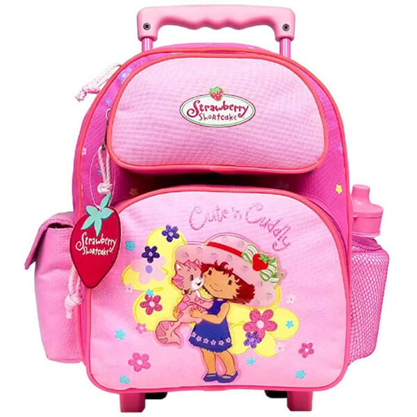 Cute and Cuddly Rolling Backpack Set