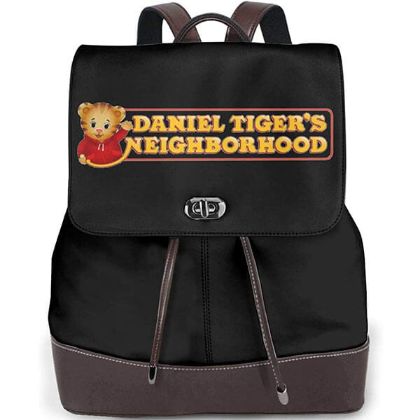 Daniel Tiger Neighborhood Logo Print Backpack