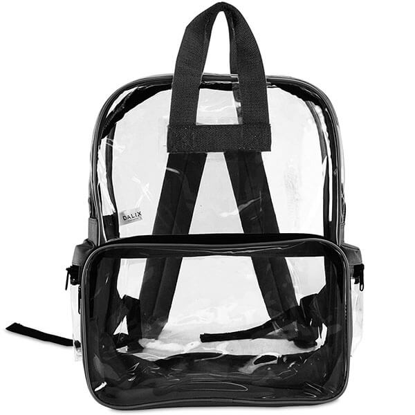 Roomy Plastic Clear Vinyl Backpack
