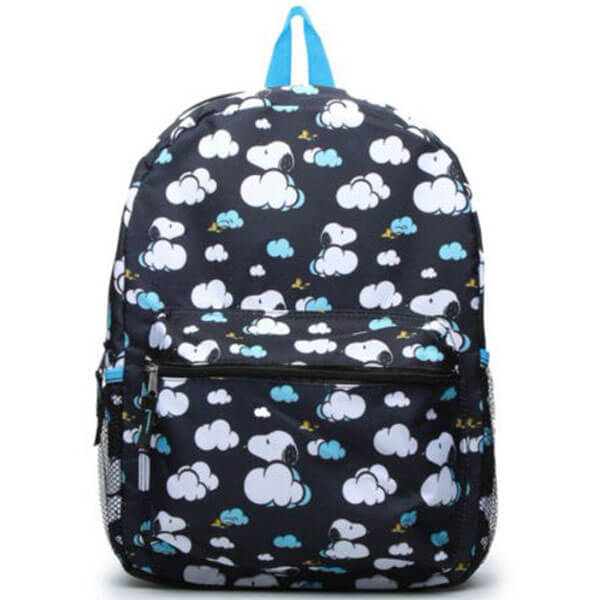 Snoopy in the Cloud and Woodstock Backpack