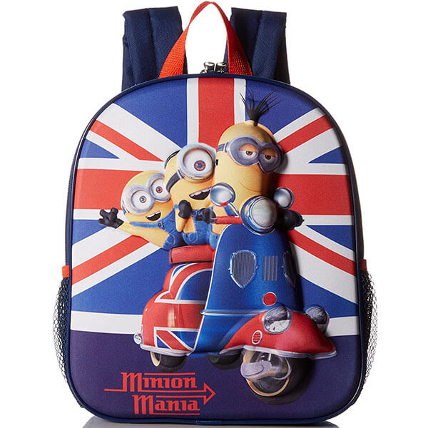 Toddler's Minion Mania Bookbag