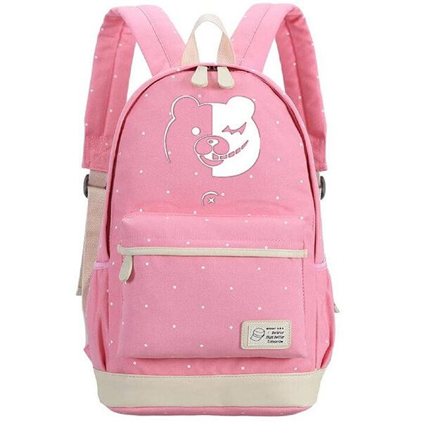 Light Pinkish Polka Dot Danganronpa Backpack