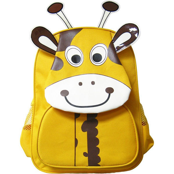 Giraffe with Brown Ear Ossicones Backpack