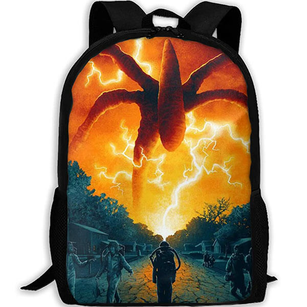 Multi-Color Mind Flayer Stranger Things Backpack