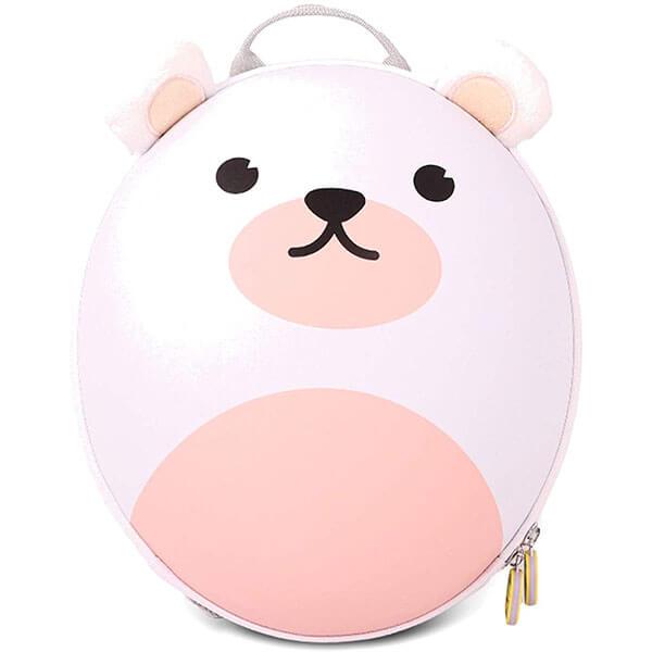 White Bear Customized Book Bag