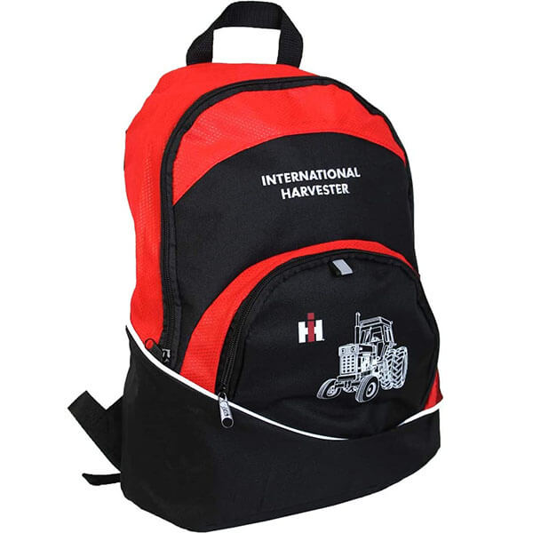 White Portrait Tractor Backpack