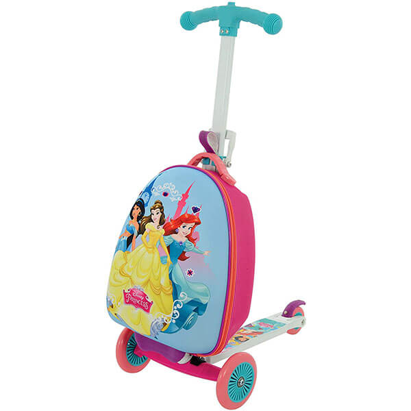 Disney Princess Scooter Luggage Backpack