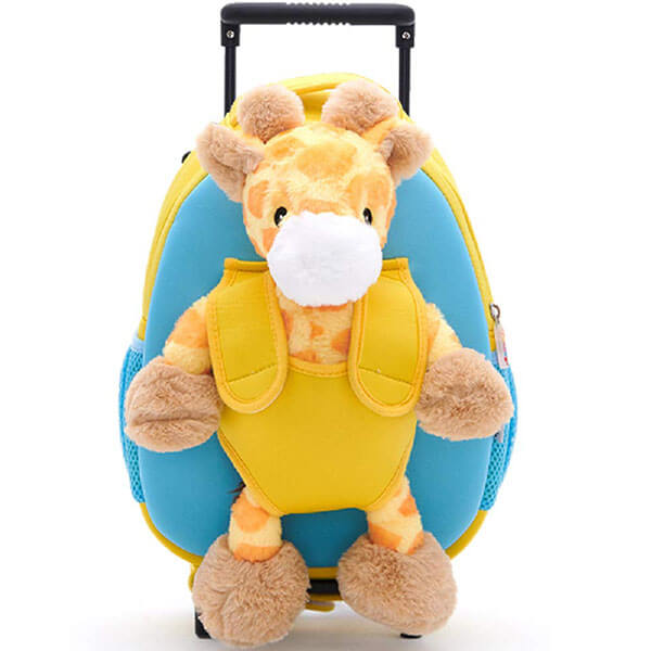 Giraffe Backpack with Removable Wheels