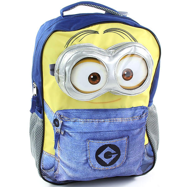 High-Quality Material Minion Bookbag
