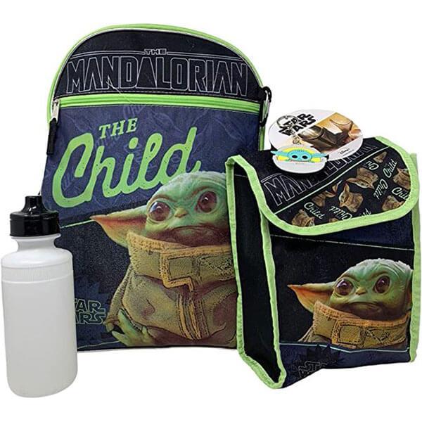 Star War Yoda Combo Backpack set