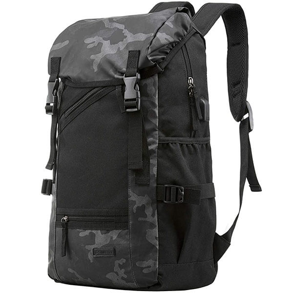 Super Large Waterproof Camouflage Travel Backpack