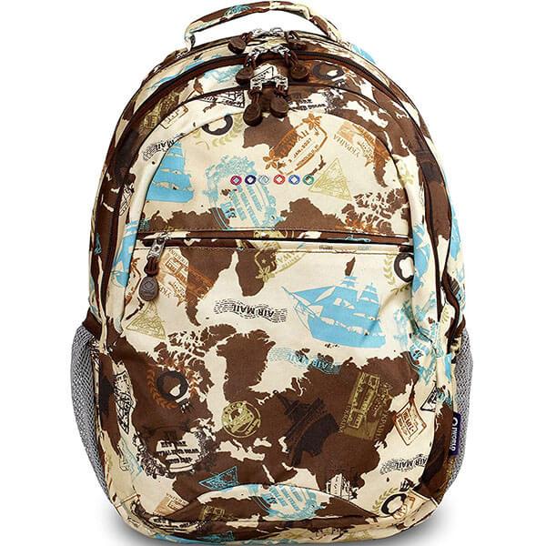 Teenager's School Globe Backpack