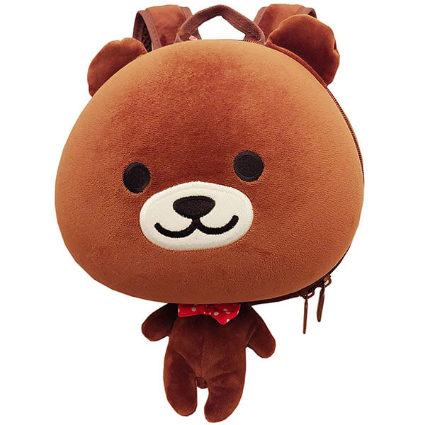 Toddler's Cute Bear Backpack with Safety Harness