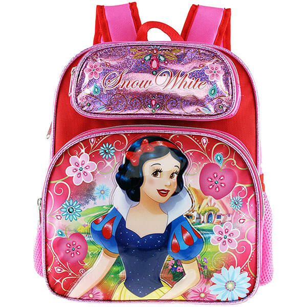 Toddlers Mini Pink Snow White Backpack