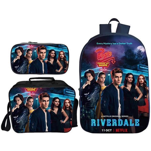 3 in 1 3D Riverdale Backpack Set