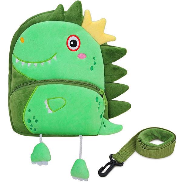 3D Dinosaur with little Legs Spike Backpack