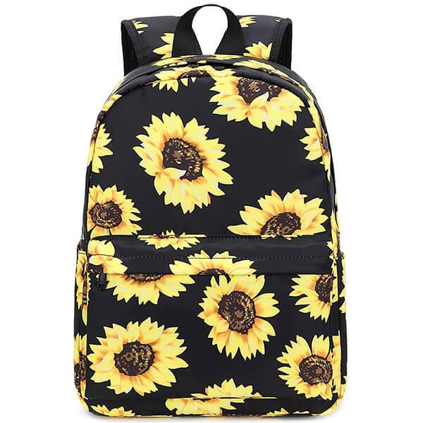Kindergarten Water-Resistant Sunflower Backpack