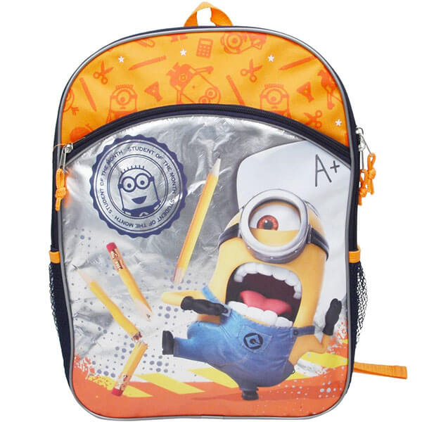Orange Karate Minion Backpack