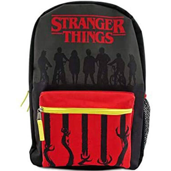 Red and Black Stranger Things Backpack