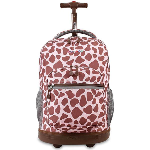 Rolling Giraffe Skin All Over Print Backpack