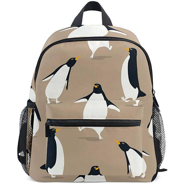 White Color Winter Penguin Backpack