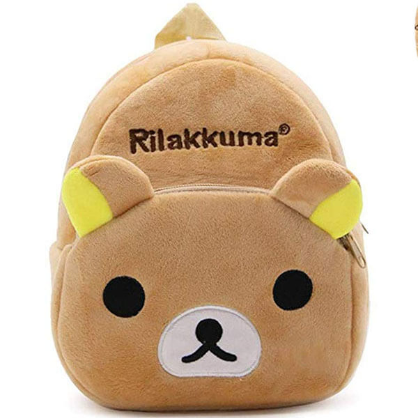 Brown Bear Cartoon Backpack for Children