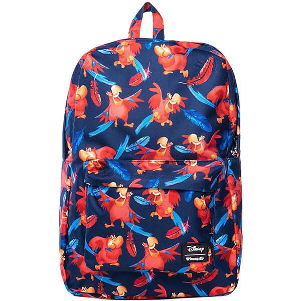 Disney Iago Bird Printed Nylon Backpack