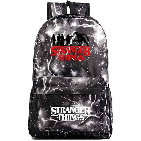 Oxford Textile Lightening Stranger Things Backpack