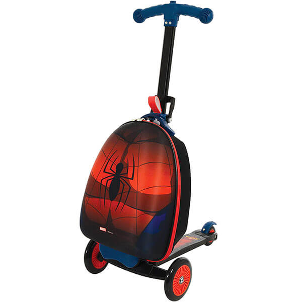Spiderman Scooter Luggage Backpack