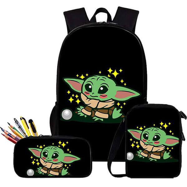 Antitheft Resistance Yoda Backpack set