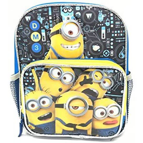 Canvas Toddler's Minion Backpack