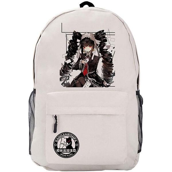 Chiaki Nanami with Danganronpa Logo Backpack