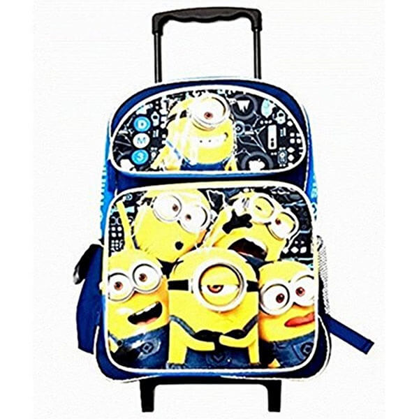 Despicable Me Minion Rolling Backpack