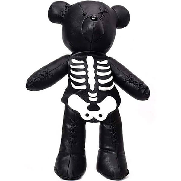Fashion Skeleton Teddy Backpack