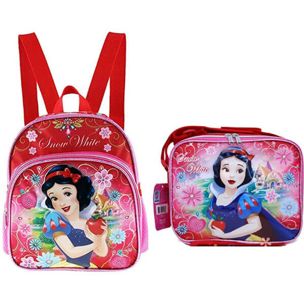 Snow White Backpack with Matching Lunch Tote