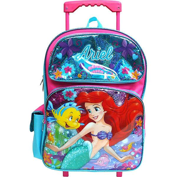 Sparkling Disney Rolling Backpack