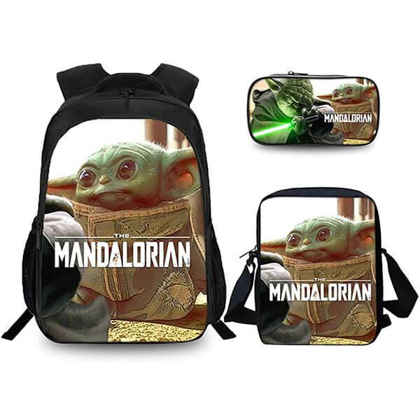 Water Proof Yoda Backpack 3 Set