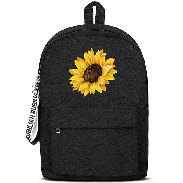 Water Resistant Canvas Sunflower Backpack
