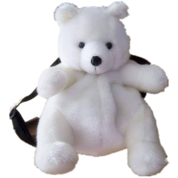 Scarf Polar Bear Backpack