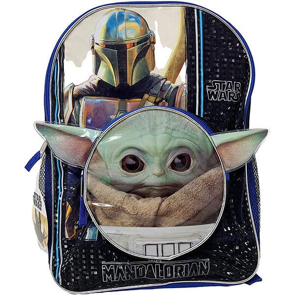 Mandalorian Backpack with Head Shape Pocket