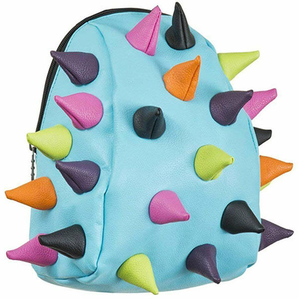 Polyester Multicolor Spikes Shell Backpack