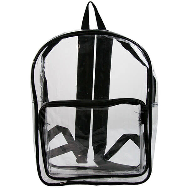Transparent Clear Vinyl Backpack