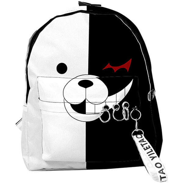 Danganronpa Backpack with Silver rings