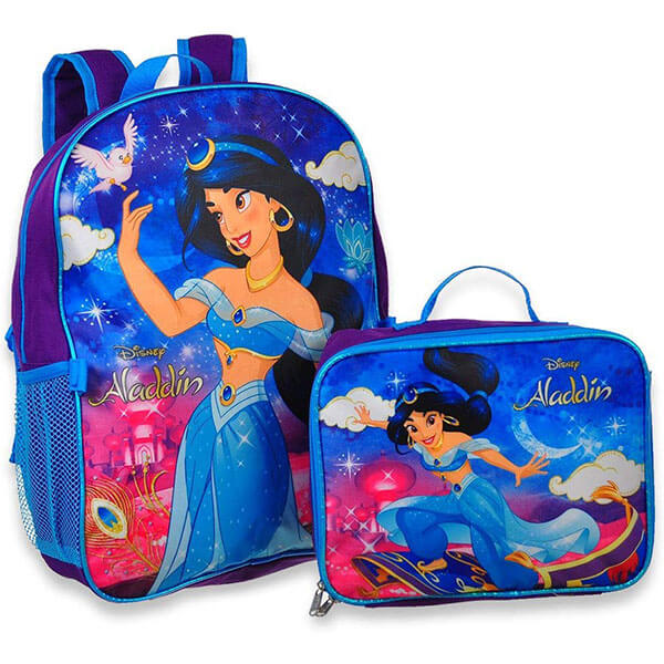 Beautiful Jasmine Backpack with Lunch Box