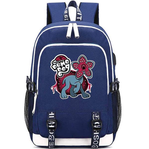 Blue Colour Demodog Backpack