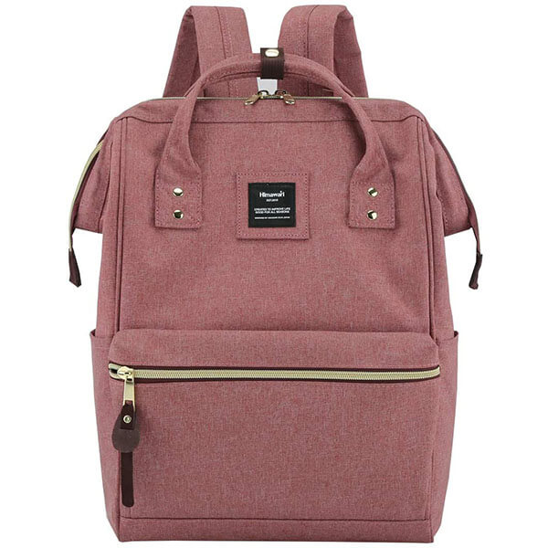 Waterproof Canvas Fashion Backpack with USB Port