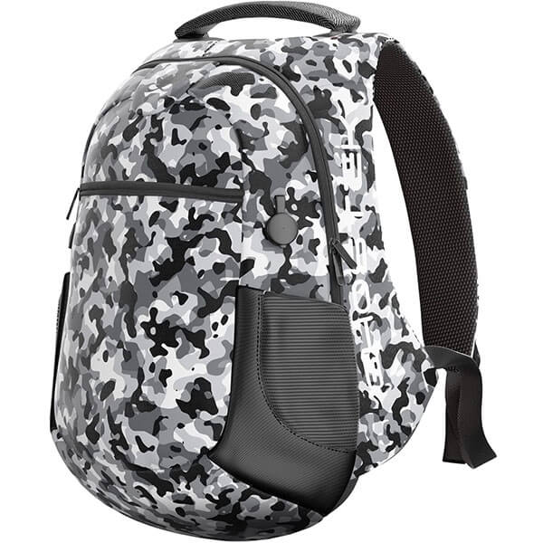 Camouflage Smart School Backpack with USB Charger