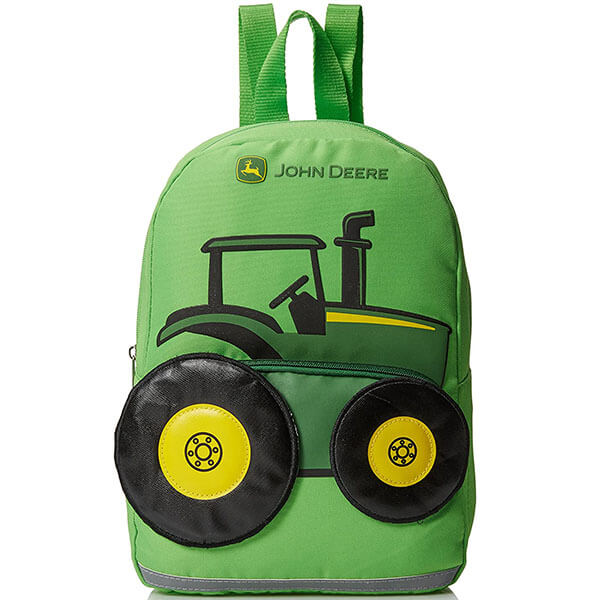 Lime Green Toddler's Tractor Cordura Backpack