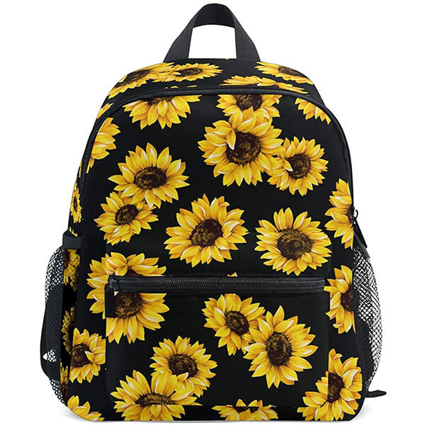 Little Sunflowers Print Toddlers Backpack